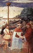 GOZZOLI, Benozzo Disembarkation at Ostia oil painting picture wholesale