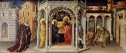 Gentile da Fabriano baby Jesus in the temple frambares oil painting picture wholesale