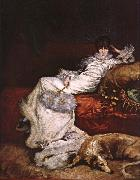 Georges Clairin Sarah Bernhardt oil painting picture wholesale