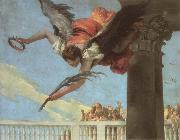 Giambattista Tiepolo Detail of the martyrdom of Saint John of Bergamo oil painting picture wholesale