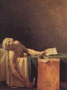 Jacques-Louis David Marats dod oil painting picture wholesale