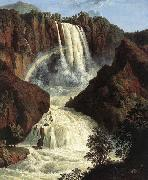 Jakob Philipp Hackert The Waterfalls at Terni oil painting artist