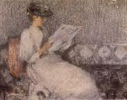 James Guthrie The Morning paper oil painting picture wholesale