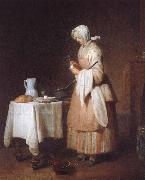 Jean Baptiste Simeon Chardin Barnjungfrun oil painting picture wholesale
