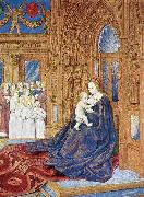 Jean Fouquet The Madonna before the Cathedral oil painting picture wholesale