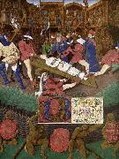 Jean Fouquet The Martyrdom of St Apollonia oil painting picture wholesale