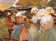 Joaquin Sorolla Y Bastida Selling the Cath at Valencia oil painting picture wholesale