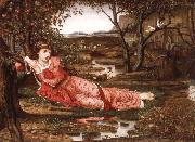 John Melhuish Strudwick Song without Words oil painting artist