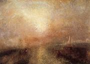 Joseph Mallord William Turner Yacht Approaching the Coast oil painting reproduction