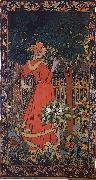 Jozsef Rippl-Ronai Woman in red oil painting artist