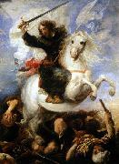 Juan Martin Cabezalero St James the Great in the Battle of Clavijo oil painting picture wholesale