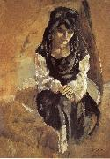 Jules Pascin The Princess o Persia oil painting