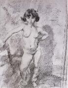 Jules Pascin Naked maiden Keludina oil painting reproduction
