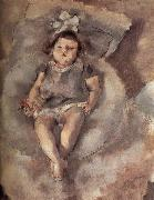 Jules Pascin Baby oil painting reproduction