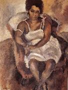 Jules Pascin Lady oil painting