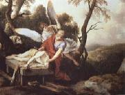 Laurent de la Hyre Abraham Sacrificing Isaac oil painting artist