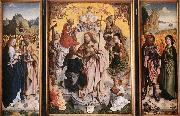 MASTER of the St. Bartholomew Altar St Thomas Altarpiece oil painting picture wholesale