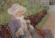 Mary Cassatt Lydia Crocheting in the Garden at Marly oil painting picture wholesale