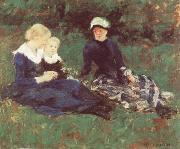 Mary Cassatt On the Meadow oil painting picture wholesale