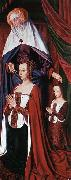 Master of Moulins Anne de France, Wife of Pierre de Bourbon oil painting picture wholesale
