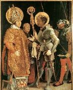 Matthias  Grunewald Meeting of St Erasm and St Maurice oil painting picture wholesale