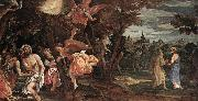 Paolo  Veronese Baptism and Temptation of Christ oil painting picture wholesale