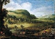 Paul Bril An Extensive Landscape oil painting artist