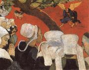 Paul Gauguin Jacob Wrestling with the Angel oil painting reproduction