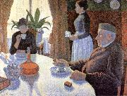Paul Signac Breakfast oil painting picture wholesale