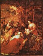 Peter Paul Rubens The Adoration of the kings oil painting picture wholesale