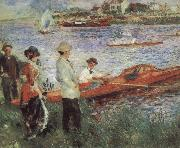 Pierre-Auguste Renoir Oarsmen at Charou oil painting picture wholesale