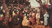 Pieter Bruegel The Sermon of St John the Baptist oil painting picture wholesale