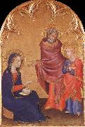 Simone Martini Jesus aterfinns in the sanctuary oil painting picture wholesale