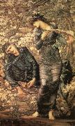 Sir Edward Coley Burne-Jones The Beguiling of Merlin oil painting picture wholesale