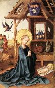 Stefan Lochner Adoration of the Child Jesus oil painting picture wholesale