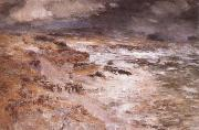 William Mctaggart The Storm oil painting artist