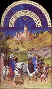 unknow artist Brod Limbourg, August  from Les Tres Riches Heures du Duc de Berry oil painting picture wholesale