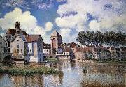 Alfred Sisley Moret-sur-Loing oil painting picture wholesale