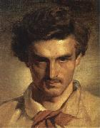 Anselm Feuerbach Self-Portrait oil painting artist