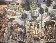 Benozzo Gozzoli The Procession of the Magi oil painting picture wholesale
