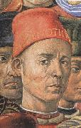 Benozzo Gozzoli Detail from The Procession of the Magi oil painting picture wholesale