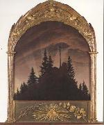 Caspar David Friedrich The Cross in the Mountains (mk45) oil painting picture wholesale