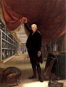 Charles Willson Peale The Artist in his Museum oil painting picture wholesale