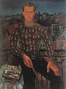 Christopher Wood Self-Portrait oil painting artist