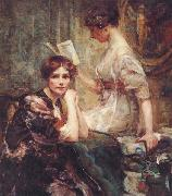 Colin Campbell Cooper Two Women oil painting picture wholesale