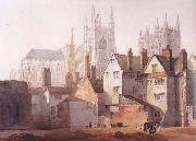 David Cox Old Westminster (mk47) oil painting artist