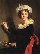 Elisabeth-Louise Vigee-Lebrun Self-Portrait oil painting picture wholesale