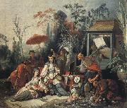 Francois Boucher The Chinese Garden oil painting picture wholesale