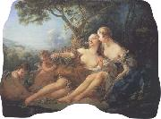 Francois Boucher Bacchus and Erigone:Autumn oil painting picture wholesale