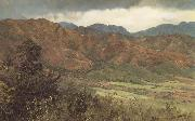 Frederic E.Church Red Hills near Kingston,Jamaica oil painting picture wholesale